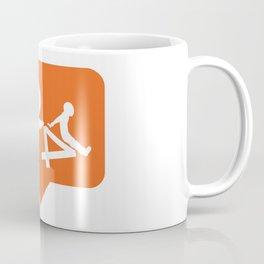 1 don't like falling! Coffee Mug