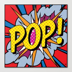POP Art #4 Canvas Print