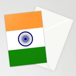 India: Indian Flag Stationery Cards