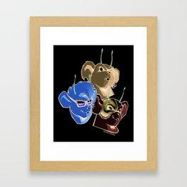 Biker Mice from Mars Framed Art Print