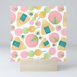 Japanese Snacks Mini Art Print