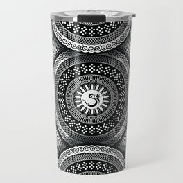 Om Mandala Travel Mug