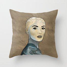 SeaBorn Gold Struck #4 Throw Pillow