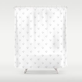 Activo! Mascot | Black [II] Shower Curtain