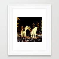baby elephant Framed Art Prints featuring Baby elephant by nicky2342