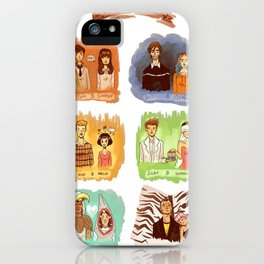 My favorite romantic movie couples iPhone Case