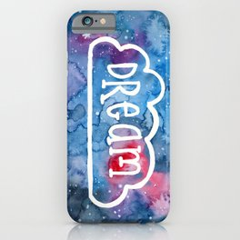 Dream Galaxy Watercolor Cell Phone Case iPhone Case
