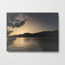Quinault Sunset Metal Print