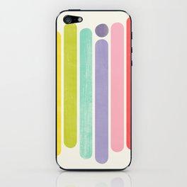 Rainbow Color Stripes iPhone Skin
