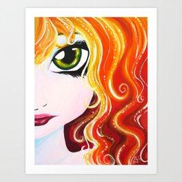Fire Element Art Print