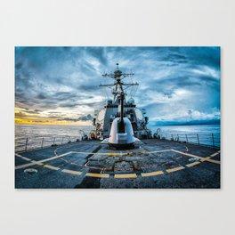 USS O'Kane Canvas Print