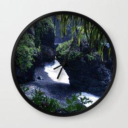 Honomaele Hana Maui Hawaii Wall Clock