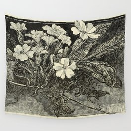 Pale Primrose Wall Tapestry