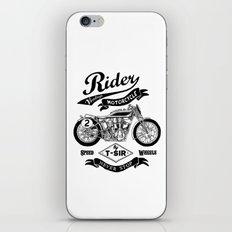 Rider iPhone & iPod Skin