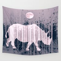 french Wall Tapestries featuring French horn by Laake-Photos