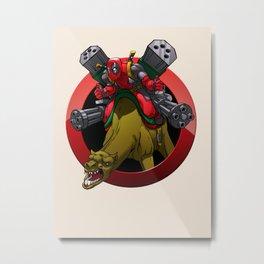 Merc with a Camel Metal Print