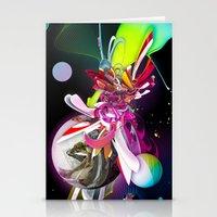 runner Stationery Cards featuring Splash Runner by Andre Villanueva