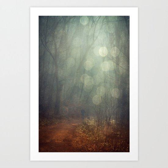 Diamond Rain Art Print