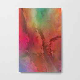 Multicolored abstract no. 15 Metal Print