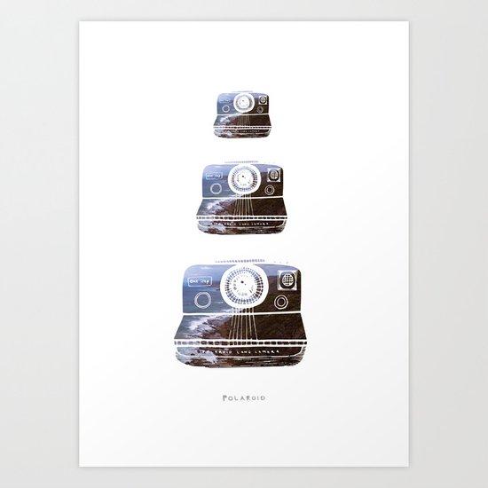 Polaroid Art Print