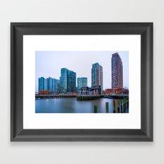 Long Island City Framed Art Print