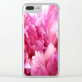 Pink Flower Petals Close-up #decor #society6 #homedecor #buyart Clear iPhone Case