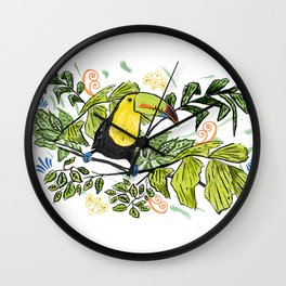 Costa Rica Verde. Wall Clock