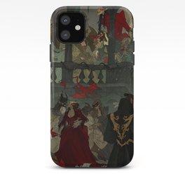 Midnight Monster Masquerade iPhone Case
