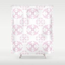 light pink tui  Shower Curtain