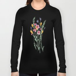 A Bunch of Flowers Long Sleeve T-shirt