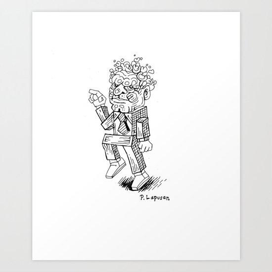 Klunky Funker Art Print