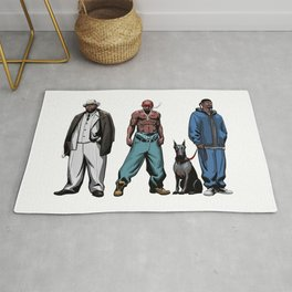 Legendary Rappers Rug