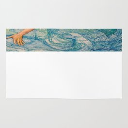 Zodiac Signs Pisces Drawing Rug