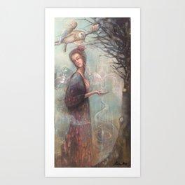 The Wishing Tree Art Print