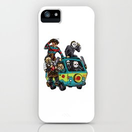 The Massacre Machine iPhone Case