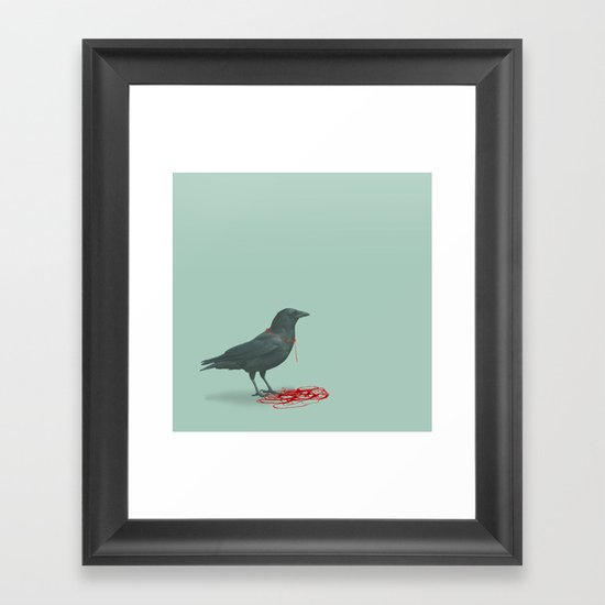 freedom ravine Framed Art Print