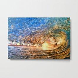 Sea, surf and sun Metal Print