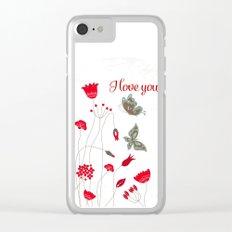 Tatemae Japanese White Clear iPhone Case