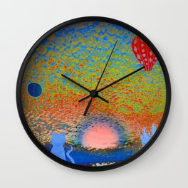 Sunrise Ritual 3 Wall Clock
