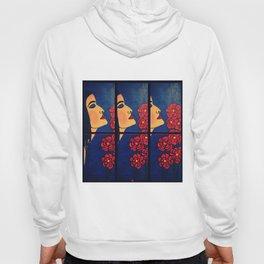Dulce Dianthus - Triptych Hoody