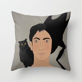 Insectiform M Throw Pillow