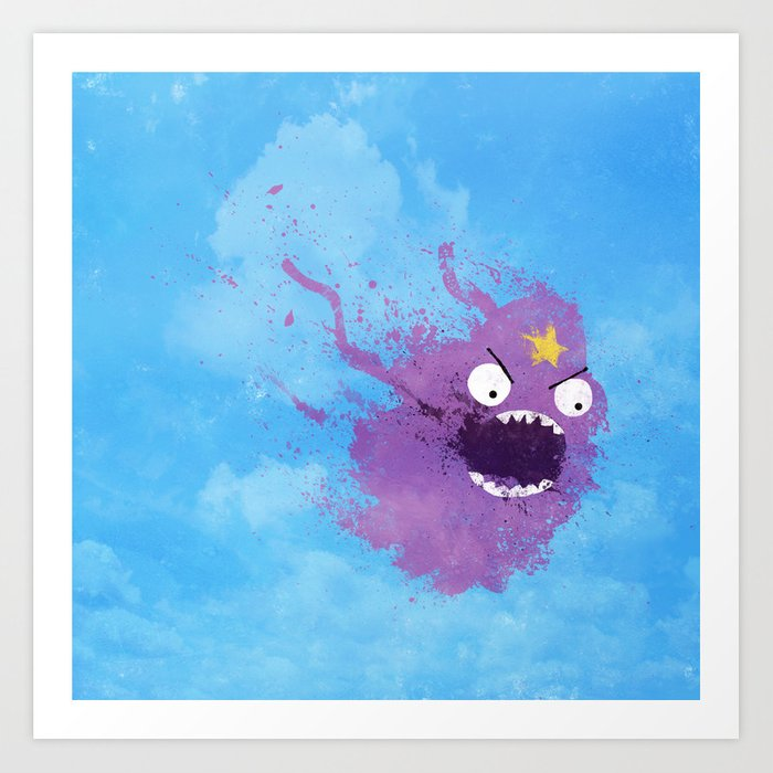 You can't have these lumps! Art Print