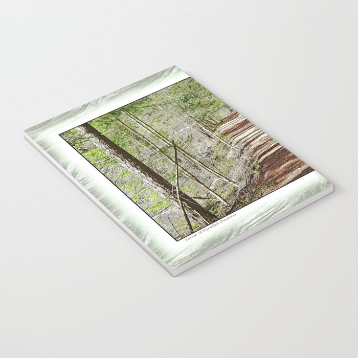 FOREST OF PARALLEL SHADOWS Notebook