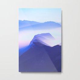 French mountains Metal Print
