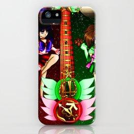 Fusion Sailor Moon Guitar #26 - Sailor Mars & Sailor Jupiter iPhone Case