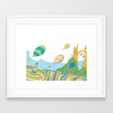 oh the places you'll go .. dr seuss Framed Art Print