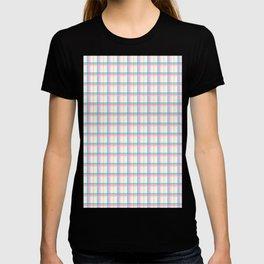Small summer plaid graphic seamless pattern. T-shirt