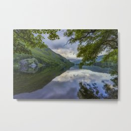Peaceful Lakeside Metal Print