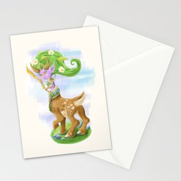 Chibi Lunara  Stationery Cards