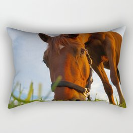 Good Grass Rectangular Pillow
